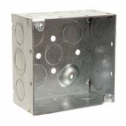 Electrical Box,Square,4x4x2,30.3 cu. in.
