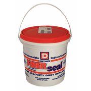 Duct Sealant, 19 g/L, 1 gal., Gray
