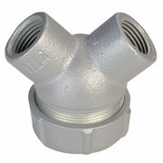 Capped Elbow,Haz Loc,3/4 In Hub,Mal Iron