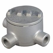 Conduit Outlet Body,Iron,T,3/4 In.