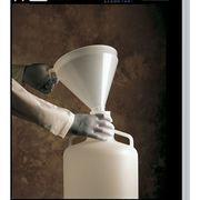 Funnel,0.56 gal,Polypropylene,White