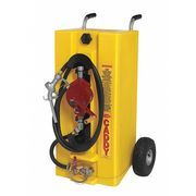 28 gal. Yellow Polyethylene Fuel Caddy, For Diesel