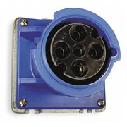 IEC Pin and Sleeve Receptacle,60A,250V