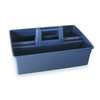 Carry Caddy, Gray, Plastic, 15-7/8x10-5/8