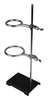 Support Stand And Rings, 24in, 1/2in, Stl