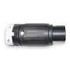 50A Twist-Lock Connector 3P 4W 250VAC BK/WT