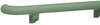 Handrail,Teal,3-9/16 in. H,6 lb.