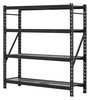 Storage Rack Unit,Steel,Black,77in. W.