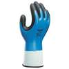 Cut Resistant Gloves, S, Blk/Sky Blue, PR