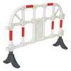 "White Plastic Handrailing Section,40"""