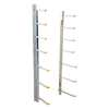 Wall Mounted Material Rack, 1000 lb.