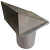Wall Cap, 3 or 4 in. Fits Duct Size