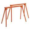 All Steel Folding SawHorse Pair