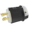 30A Twist-Lock Plug 3P 4W 480VAC L16-30P BK/WT