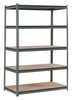 Ultra-Rack Boltless Shelving, 48x24x72, 5 Shelf