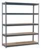 Boltless Shelving, 60x18x72, 5 Shelf