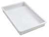 "Food Handling Tray 25-3/4""L, White"