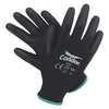 Coated Gloves,S,Black/Black,PR