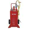 30 gal. Red Steel Fuel Caddy,  For Gasoline,  Diesel,  Kerosene